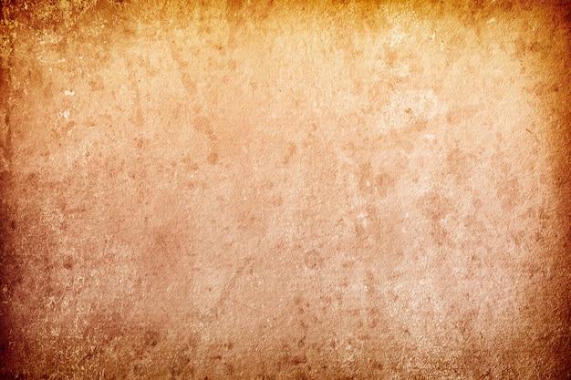Tekstura starej brązowej szorstkiej tekstury grunge z miejscem na tekst i projekt