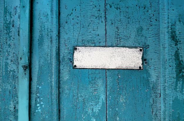 Tekstura starych drzwi drewnianych
