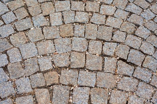 Tekstura starych płyt chodnikowych