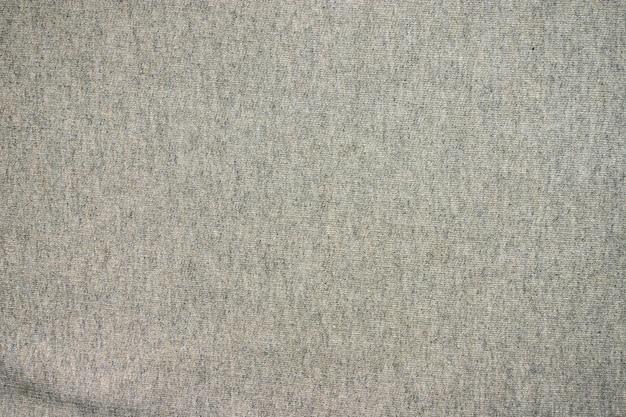 Tekstura szara wełny tkanina.