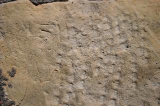 Tekstura tekstury kamienia wytrawione