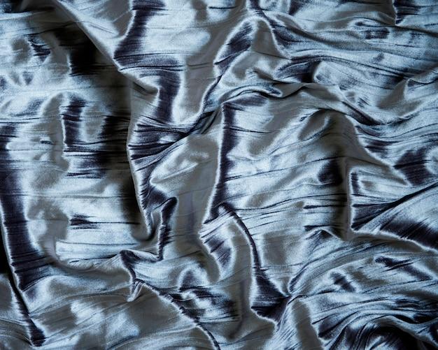 Tekstura tkanina metaliczna