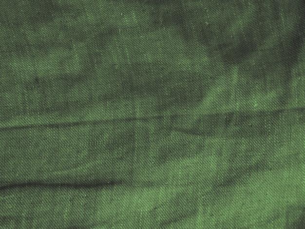 Tekstura tkanina zielony materiał