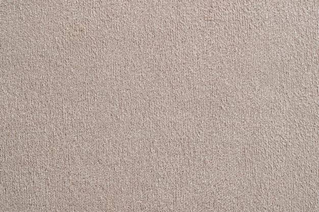 Tekstura tkaniny beżowej tkaniny