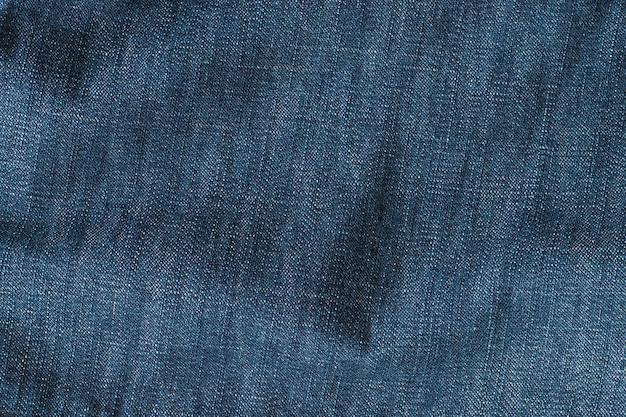 Tekstura tkaniny jeansów