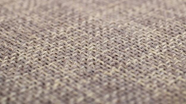 Tekstura tkaniny płótno brązowe jako tło
