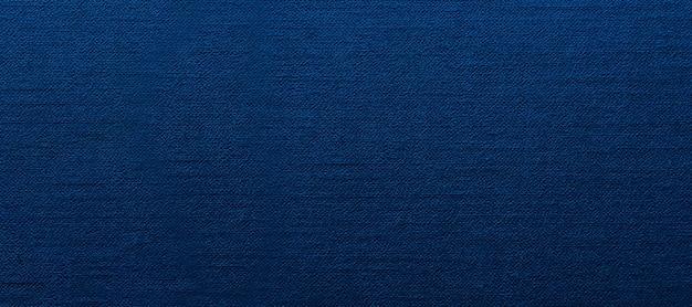 Tekstura tkaniny w kolorze niebieskim