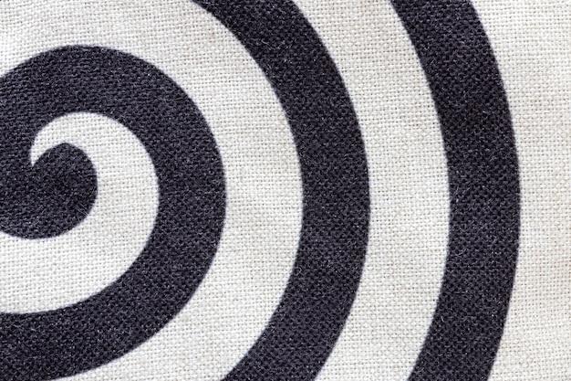 Tekstura tkaniny widok z góry