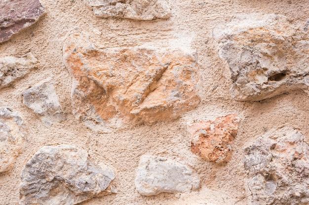 Tekstura tła kamienia. ściana w tle wykonana z kamienia.