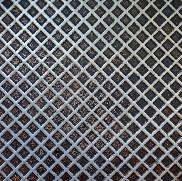 Tekstura tła metalowej patelni