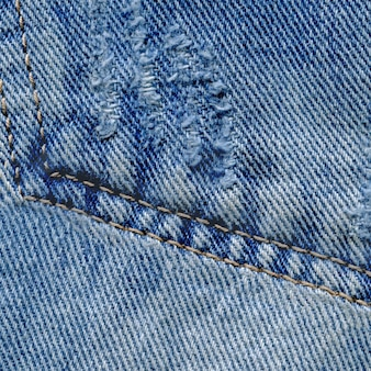Tekstura tła niebieskie dżinsy