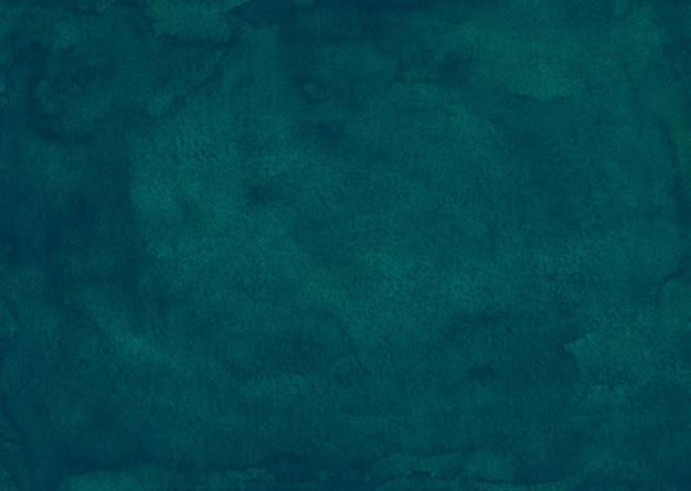 Tekstura tło akwarela głębinowych zielony