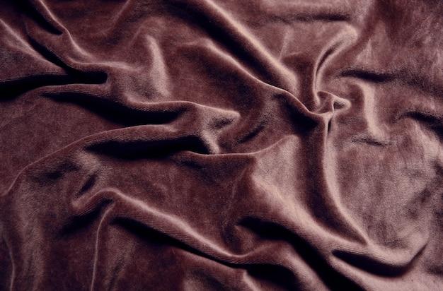Tekstura tło brązowy aksamit