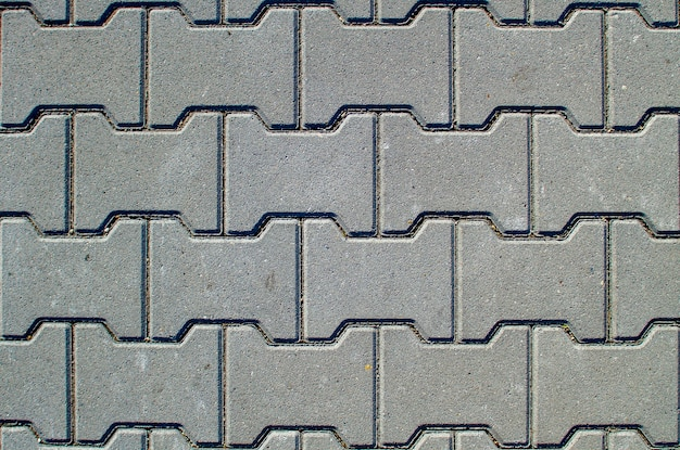 Tekstura tło chodnik betonowy lub chodnik z płyt chodnikowych