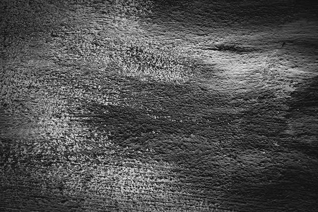 Tekstura tło. ciężka stara malowana czarna ściana w stylu grunge. zamknąć widok