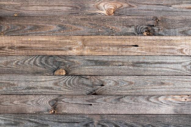 Tekstura tło drewniany płot wykonany ze starych desek