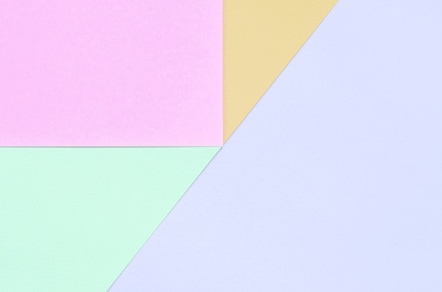 Tekstura tło moda pastelowe kolory, różowe, fioletowe, pomarańczowe i niebieskie papiery wzór geometryczny,