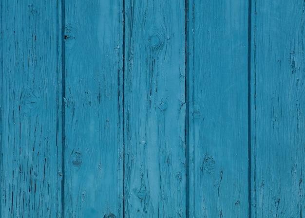 Tekstura tło niebieskie malowane drewniane deski