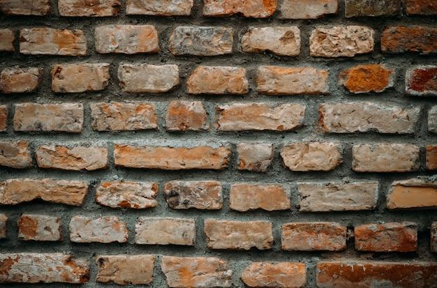 Tekstura tło nowoczesnych miejskich starej cegły