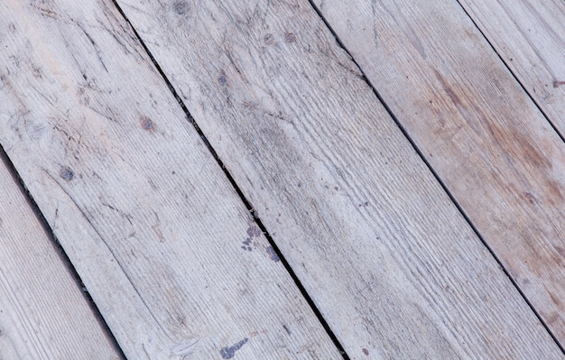 Tekstura tło stare białe malowane drewniane deski okładzinowe ściany.