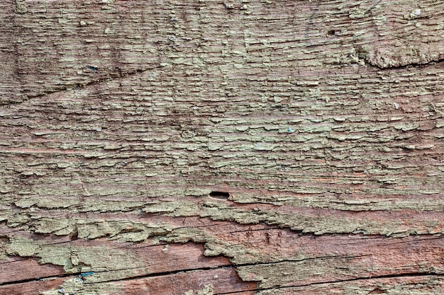 Tekstura tło starego malowanego drewna dla makiety lub wzoru w budownictwie, żywności lub przemysłowej płaskiej warstwie koncepcji próbki.