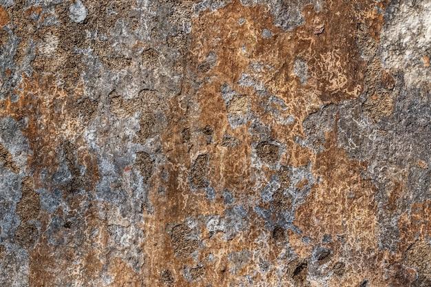 Tekstura tło starej malowanej ściany dla makiety lub wzoru w budownictwie, żywności lub przemysłowej płaskiej warstwie układu wzorca próbki.