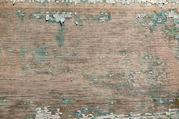 Tekstura tło starej malowanej sklejki do makiety lub wzoru w budownictwie, żywności lub przemysłowej płaskiej warstwie koncepcji próbki.