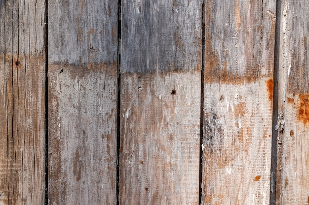 Tekstura tło starych desek do makiety lub szablonu projektu w budownictwie, żywności lub przemysłowej płaskiej warstwie koncepcji próbki. układ pionowy