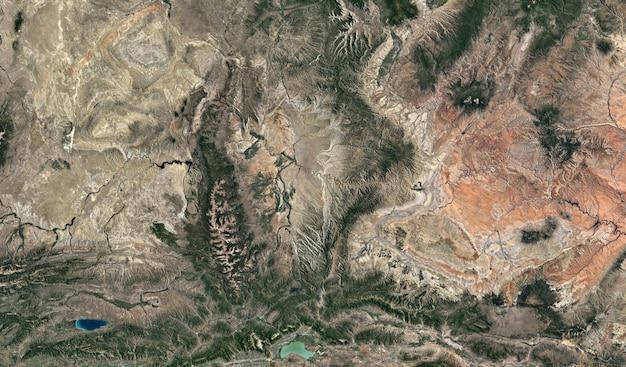 Tekstura widoku satelitarnego