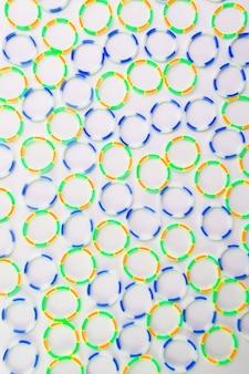 Tekstura wielokolorowa gumka