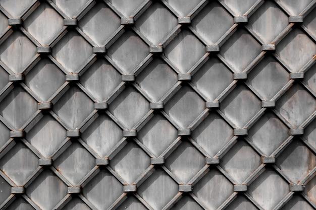 Tekstura wolumetryczna ogrodzenia z diamentem, tłami i tapetami