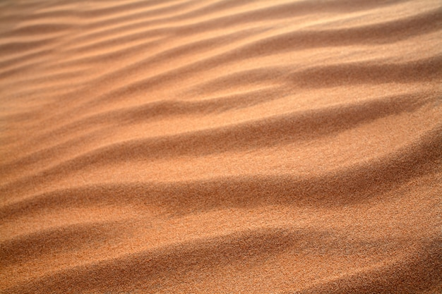 Tekstura wydmy piasku niewyraźne tło