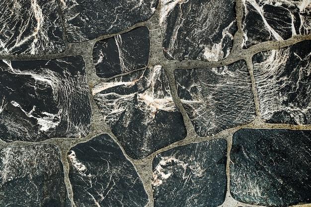 Tekstura wzór kostki brukowej przypominający marmur.