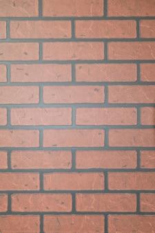 Tekstura z czerwonej cegły ciemnej