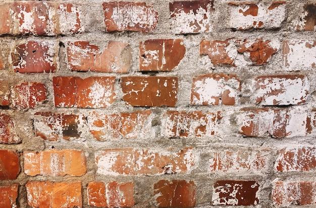 Tekstura z czerwonej cegły. tekstura kamienia. selektywne skupienie.natura.tekstura