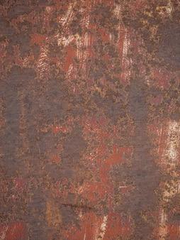 Tekstura ze starą rdzą na metalu.