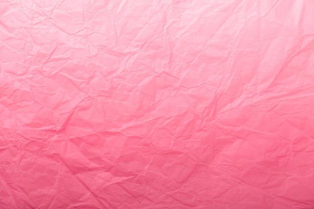 Tekstura zmięty ciemnoczerwony papier pakowy