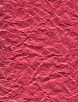 Tekstura zmięty ciemny różowy papier tło