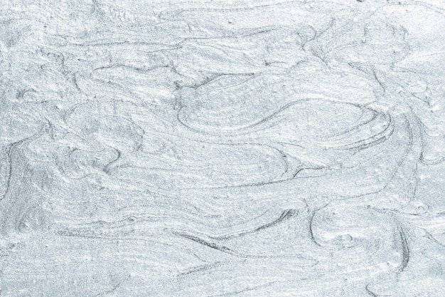 Teksturowana srebrna farba olejna