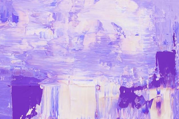 Teksturowana Tapeta W Tle Z Fioletową Farbą Akrylową Darmowe Zdjęcia