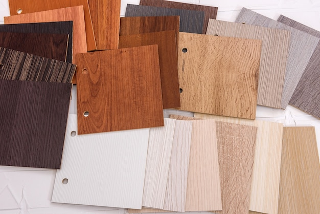 Teksturowane drewniane deski jako tło z bliska