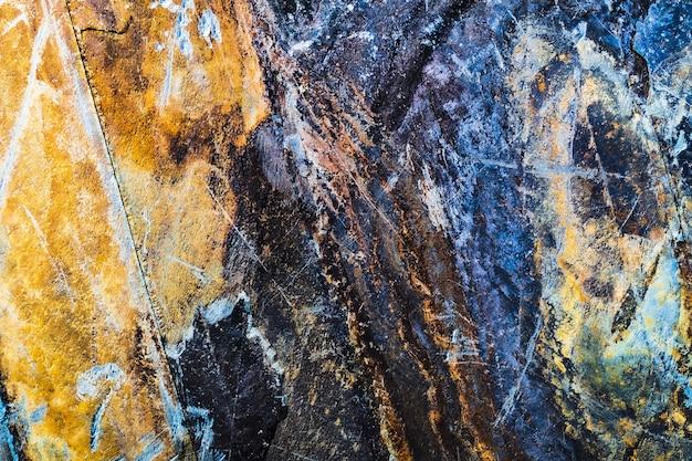 Teksturowane rusty wieku metalowe tło