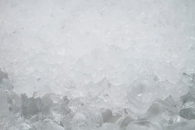 Teksturowane tło kostek lodu cube