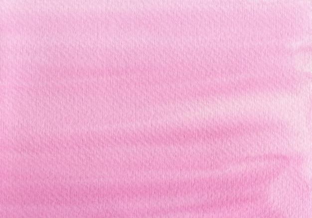 Teksturowane tło z jasnoróżowego papieru akwarelowego. akwarela ilustracja.