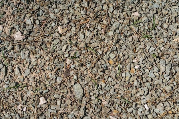 Teksturowane tło z małymi kamieniami