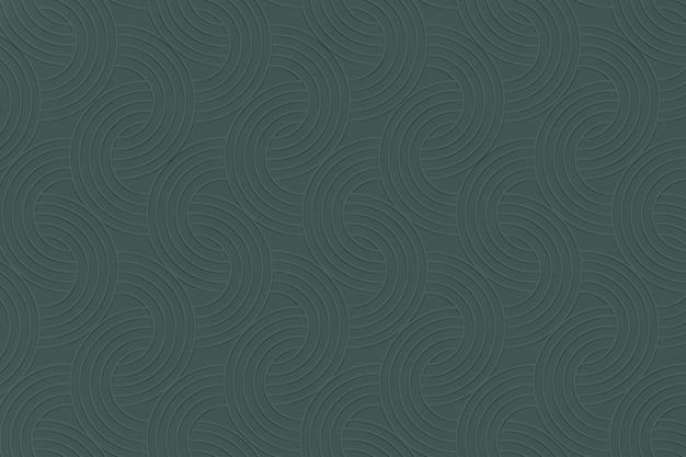 Teksturowane tło z zielonym wzorem półkola