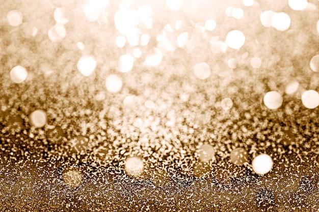Teksturowany błyszczący złoty brokat
