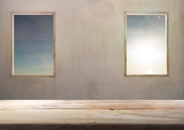 Tekstury drewna i okien