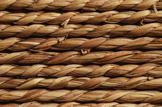 Tekstury liny szalik w tle kilku rzędów