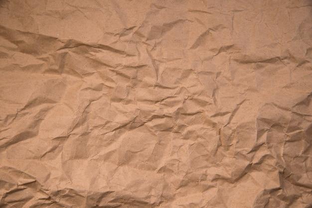Tekstury papieru. arkusz brązowego papieru.